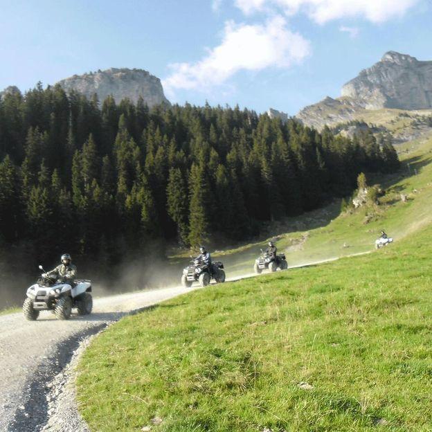 Quad Grilltour im Berner Oberland