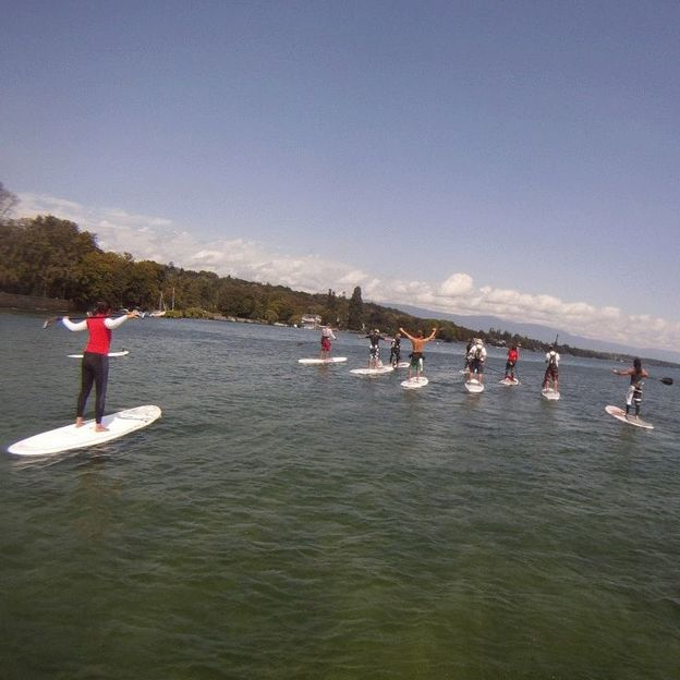 Stand Up Paddle Adventure am Zürichsee