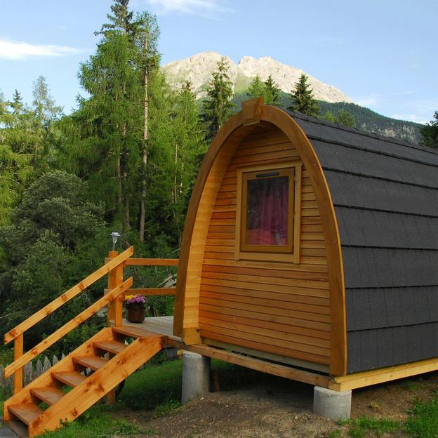 Wanderung mit Übernachtung im Holz-Iglu