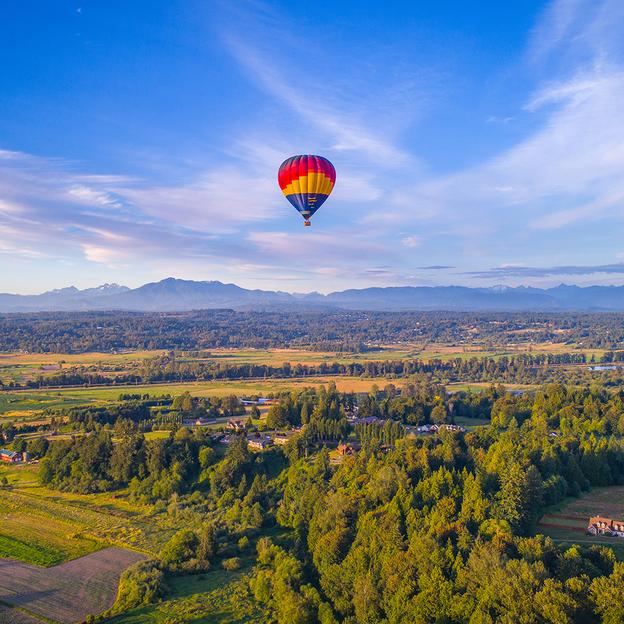 Ballonfahrt von 24 Startorten in der Schweiz