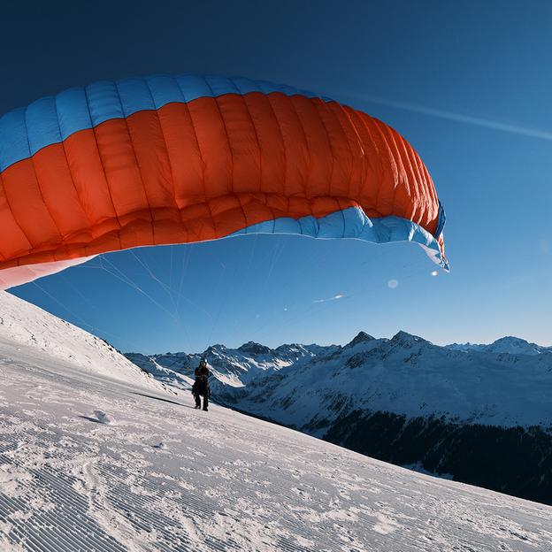 Vol en parapente avec hébergement