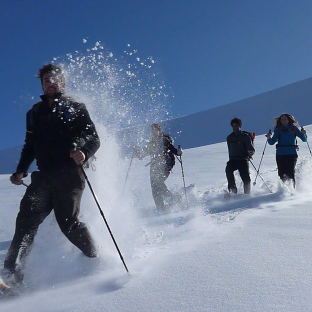 Geführte Tages Schneeschuhwanderung