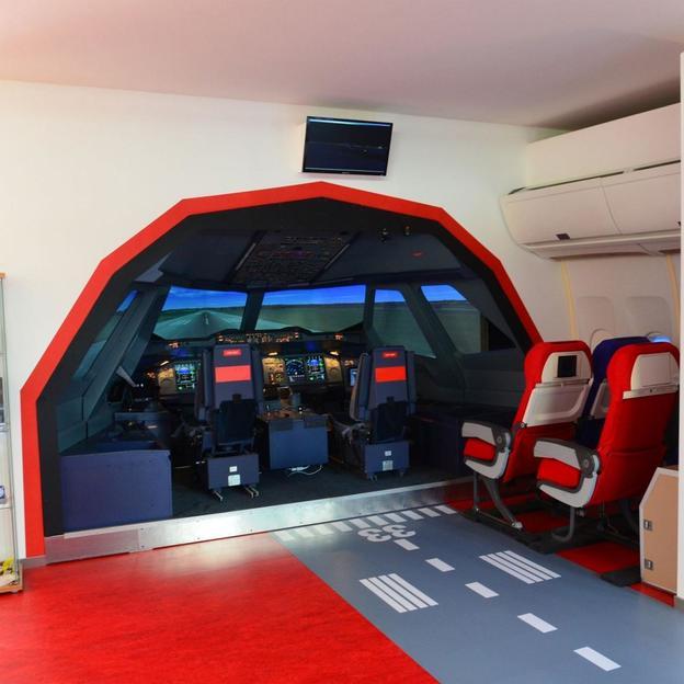 Simulation de vol en Airbus A380 (60 minutes)