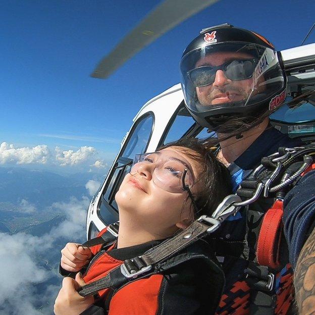 Fallschirm Tandemsprung - Skydiving aus dem Helikopter