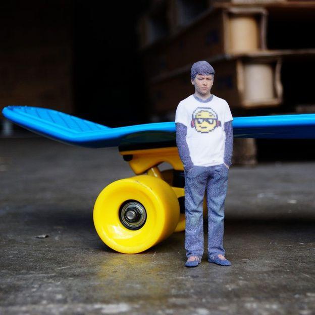 Mini-Me: Votre clone par imprimante 3D (10 cm)