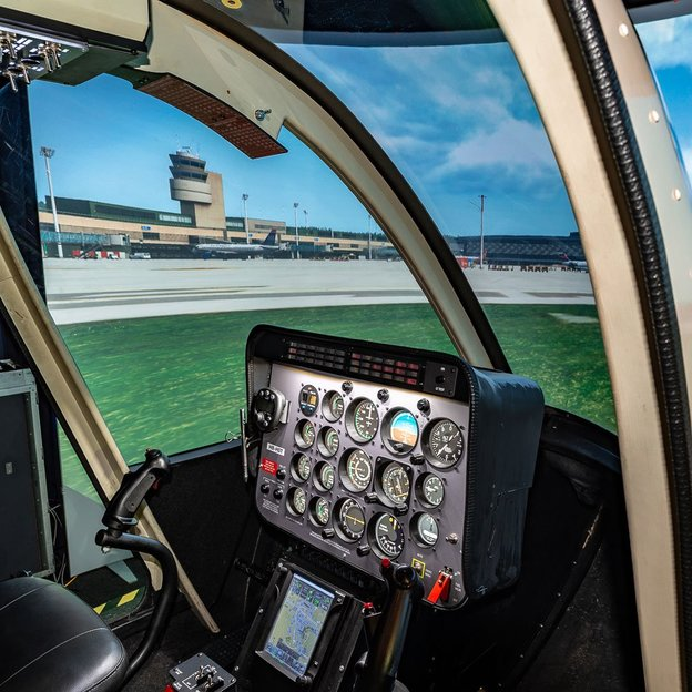 Helikopter Bell-206B Jet Ranger Simulator