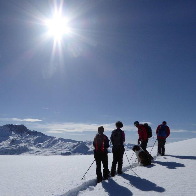 Schneeschuh Weekend in Graubünden