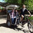 Zurich ville et rive en Rickshaw 60 min.