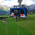 Saut à l'élastique de 140 m. à Engelberg