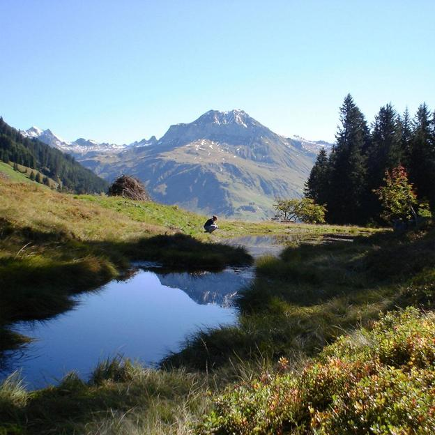 Romantische Übernachtung mit wunderschönem Panorama in Graubünden (für 2 Personen)
