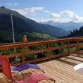 Romantische Übernachtung mit traumhaftem Panorama in Graubünden (für 2 Personen)