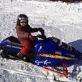 Schneemobil-Park für Kids