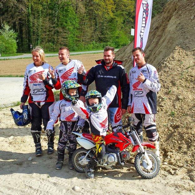 Schnupperangebot Motocross fahren mit dem Europameister