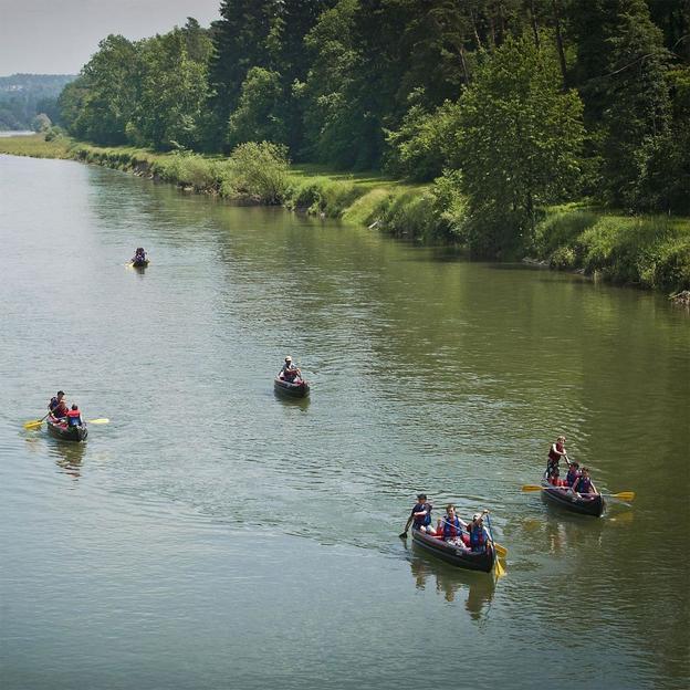 Canoë sur le Rhin, la Thur ou la Reuss