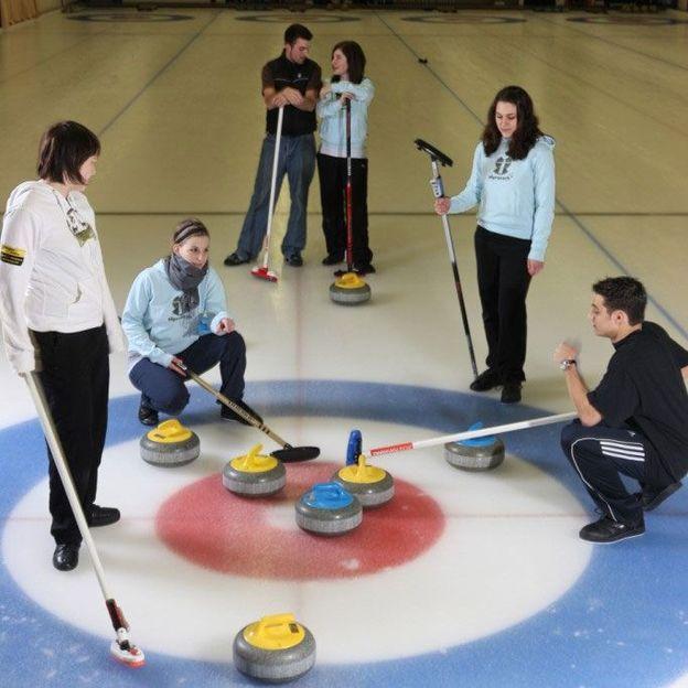Curling Schnupperkurs für 8 Personen
