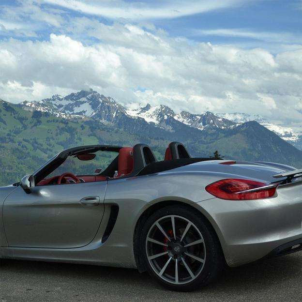 Location d'une Porsche Boxster S pour 2 jours