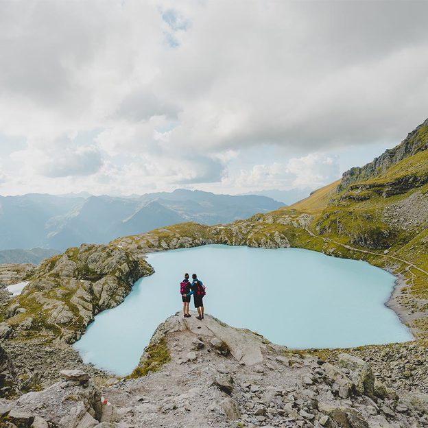 Randonnée des 5 lacs sur le Pizol avec pique-nique