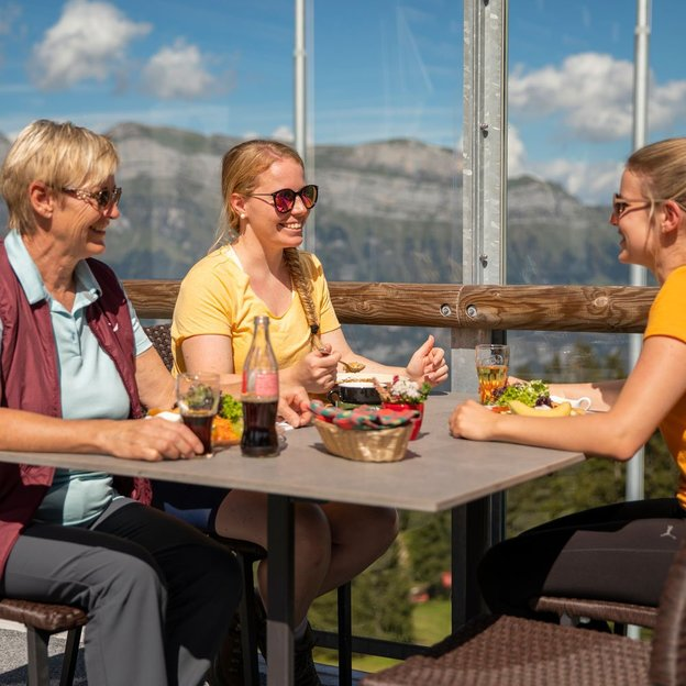 Kulinarik-Wanderung Geniesser-Route Flumserberg