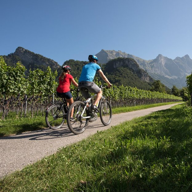 Kulinarische E-Bike-Tour Bündner Herrschaft