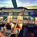Flugsimulator im Airbus A380 Cockpit (30 Minuten)