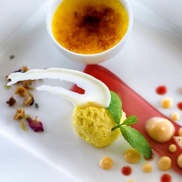 Menu dégustation au restaurant La Brezza