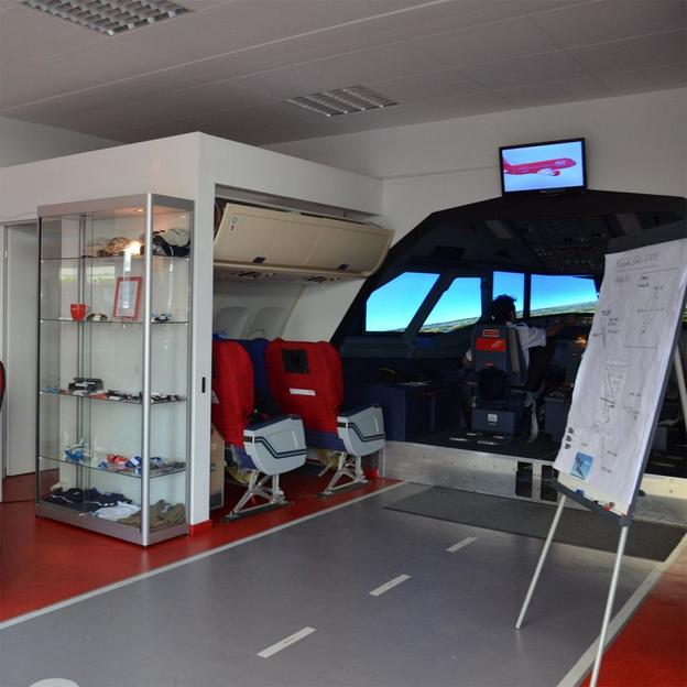 Flugsimulator im Airbus A320 Cockpit (30 Minuten)