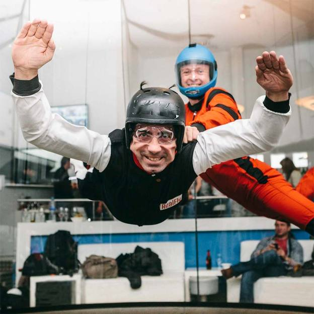 Indoor Skydiving in Sion (2 Flüge)