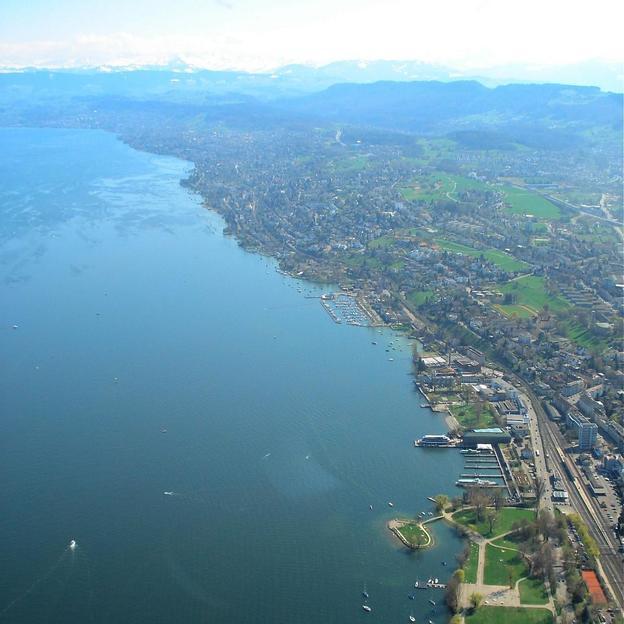 Helikopter Rundflug Zürichsee–Unterägeri–Zug