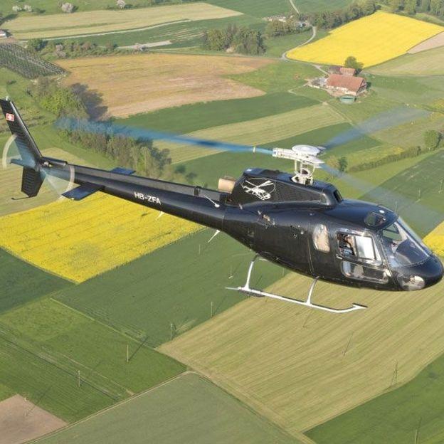 Helikopterflug: Regio Rundflug Basel (30 Minuten)
