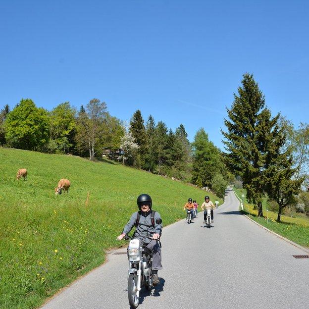 Töffli Fahrspass in Bern und im Appenzellerland (für 1 Person)