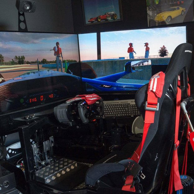 Race Simulator in Zürich (60 Minuten)