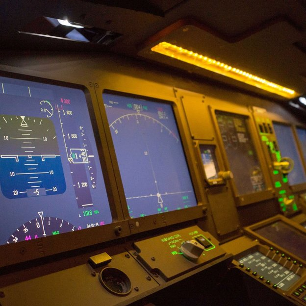 Simulation de vol dans un Boeing 777 (60 min)
