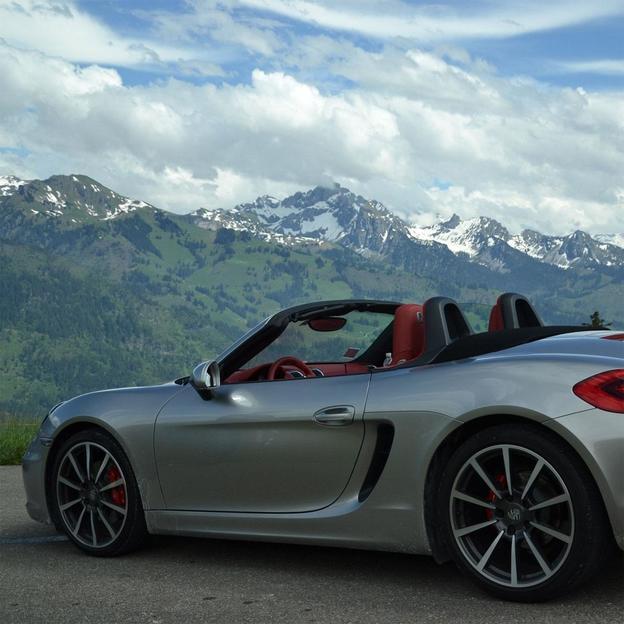 Location d'une Porsche Boxster S pour 12 heures