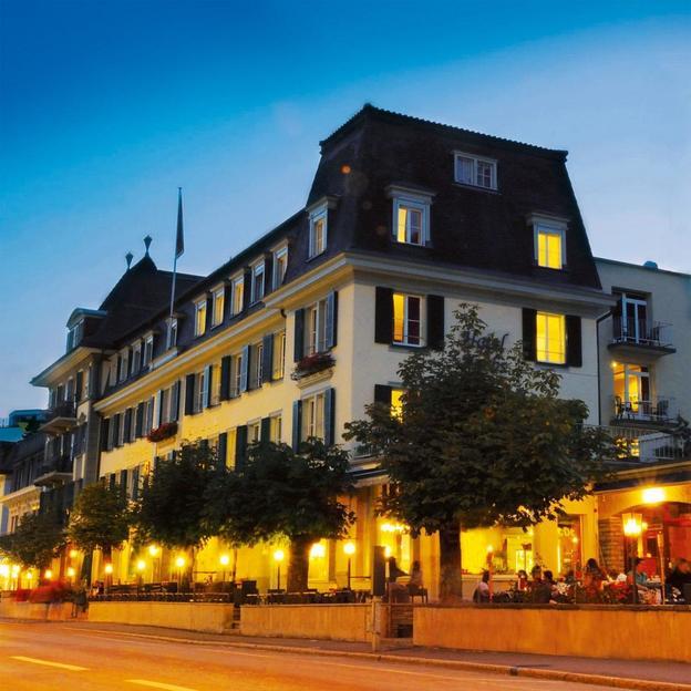 Übernachtung mit Blick auf Eiger, Mönch & Jungfrau