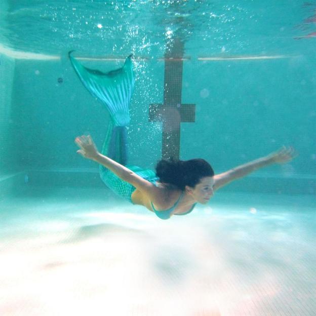 Meerjungfrauen Schwimmkurs für Kinder und Erwachsene