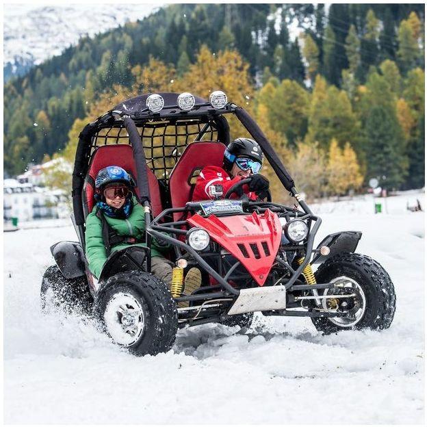 CrossBuggy fahren auf Schnee und Eis