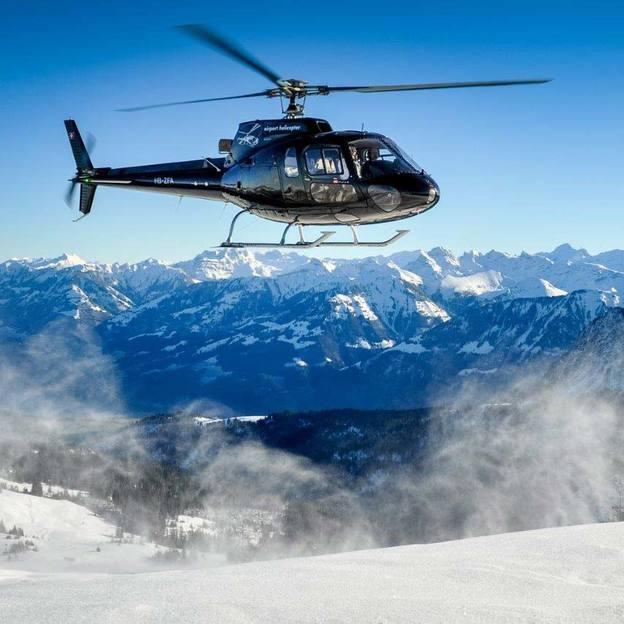 Romantik Weekend mit dem Helikopter (Jungfraujoch)