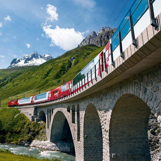 Glacier Express classique (3 jours / 2 nuits)