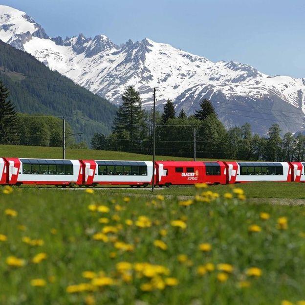 Glacier Express Zermatt – Chur (2 Tage / 1 Nacht)