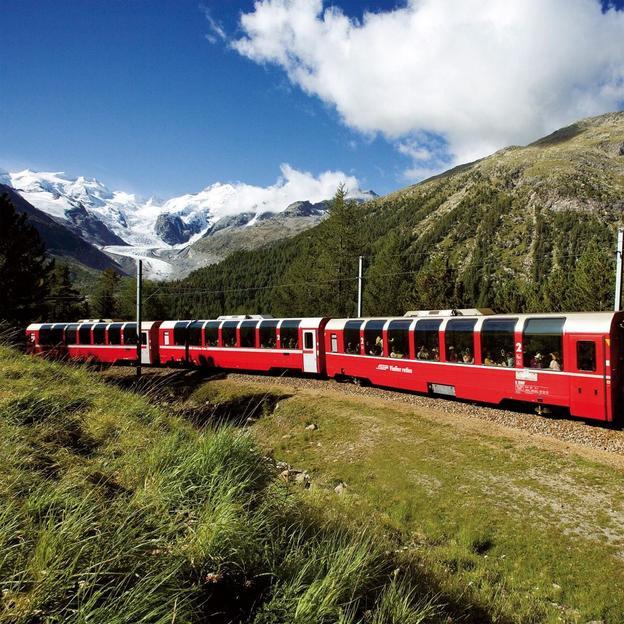 Bernina Express Poschiavo - Pontresina (2 jours / 1 nuit)