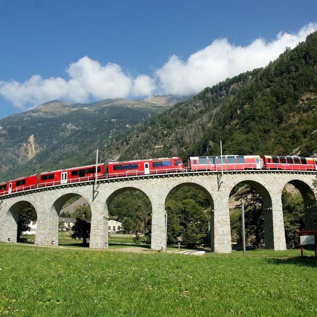 Bernina Express Poschiavo – Pontresina (2 Tage / 1 Nacht)