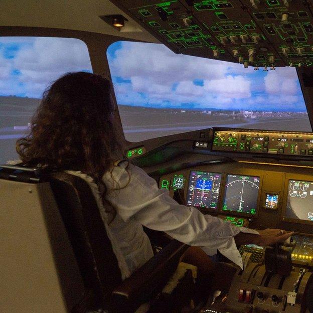 Firmen: Flugsimulator Boeing 777 Simulator