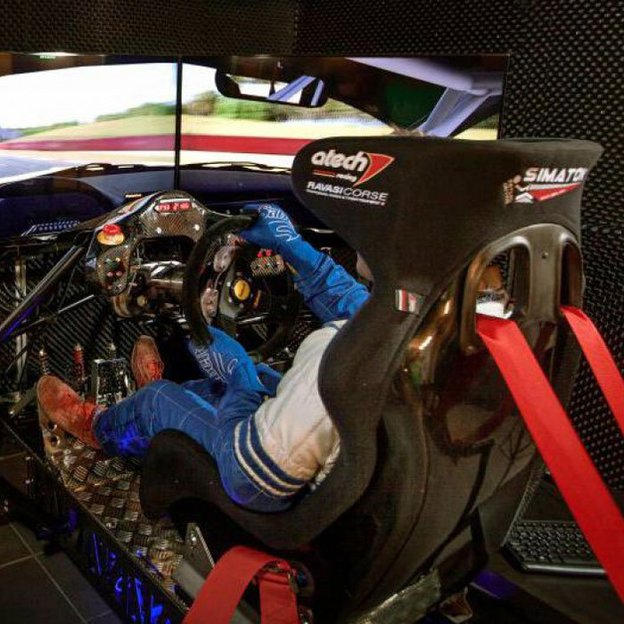 Automobil Rennsport Simulator (20 Minuten)
