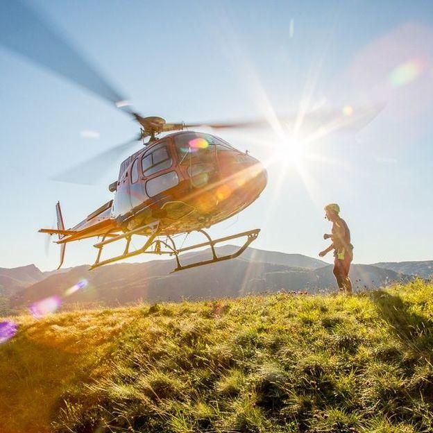 20 Minuten Helikopterflug in der ganzen Schweiz