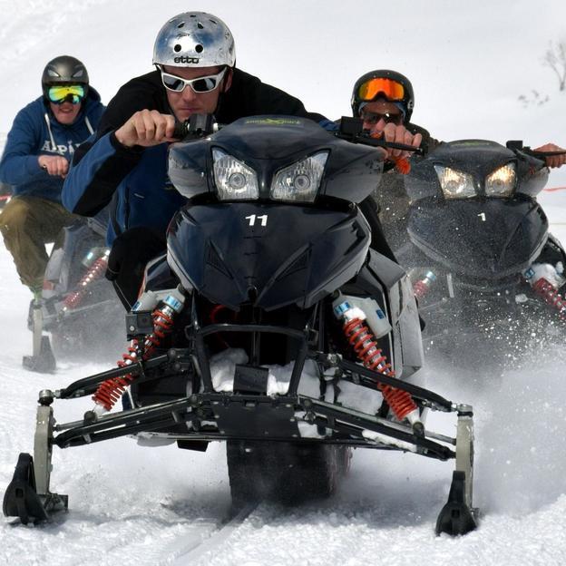 Exclusif : Location du snowXpark Motoneige à Engelberg