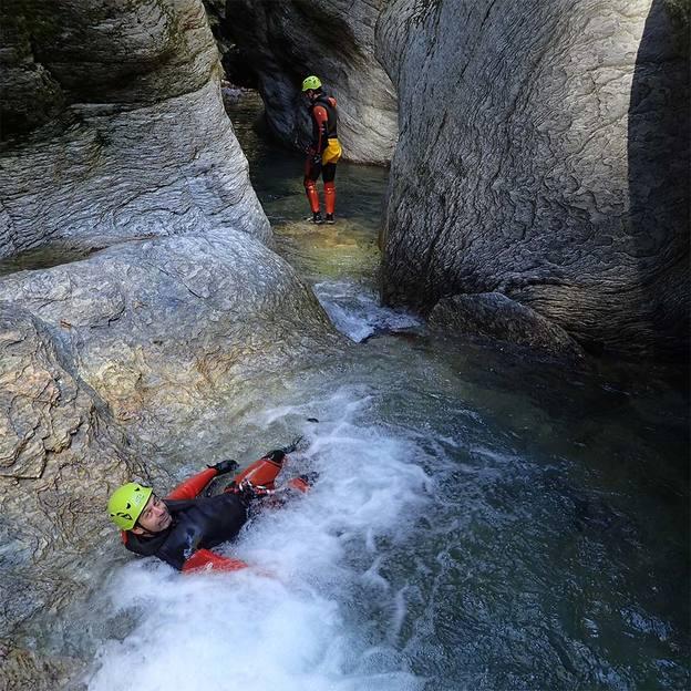 Canyoning im Ecouges für zwei Personen