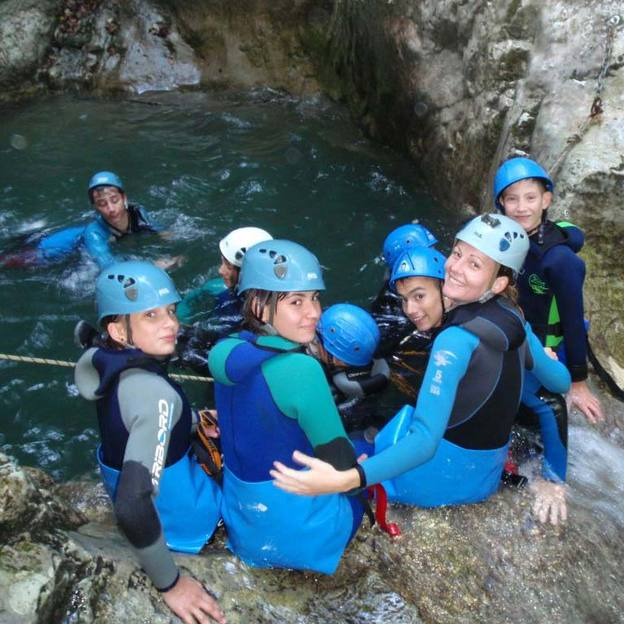Canyoning Expert des Ecouges integral (2 pers)