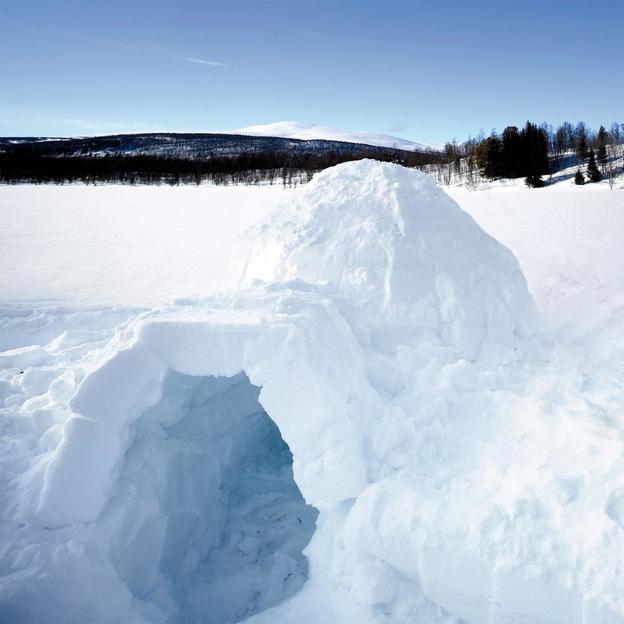 Firmen: Iglubauen - der winterliche Teamevent