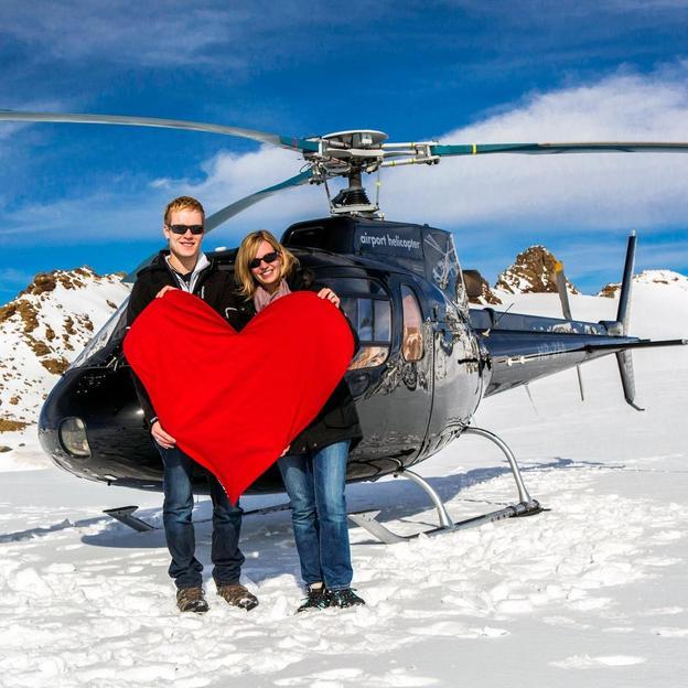 Week-end romantique en hélicoptère (Eiger)