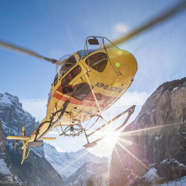 Romantik Weekend mit dem Helikopter (Eigernordwand)